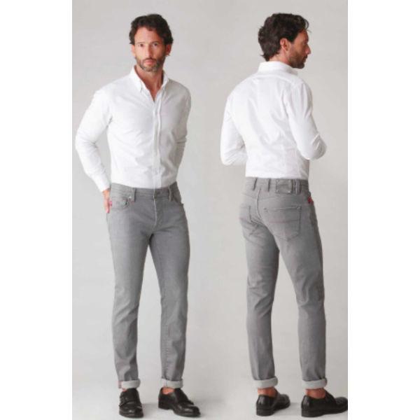 jeans leonardo licht grijs
