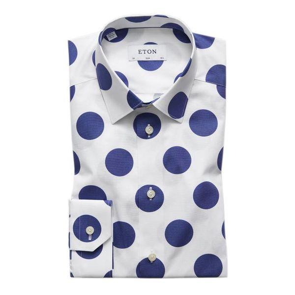 Bold Polka Dots Print Shirt