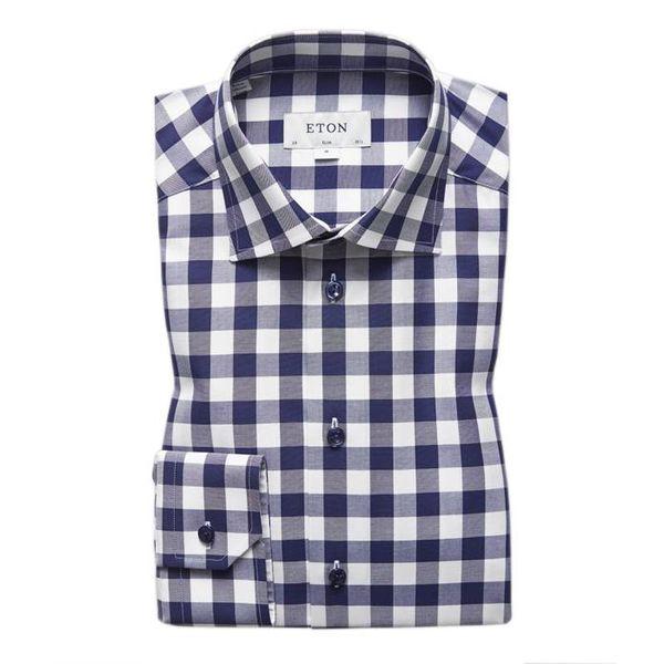 Bold Gingham Check Shirt
