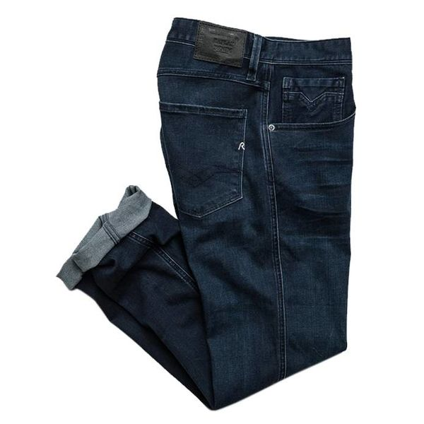 Anbass dark blue denim