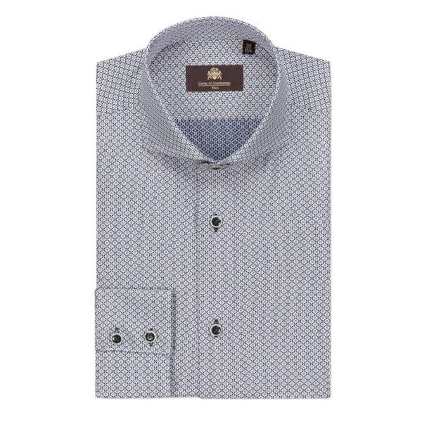 Maxton EC Blauw Ruit Shirt
