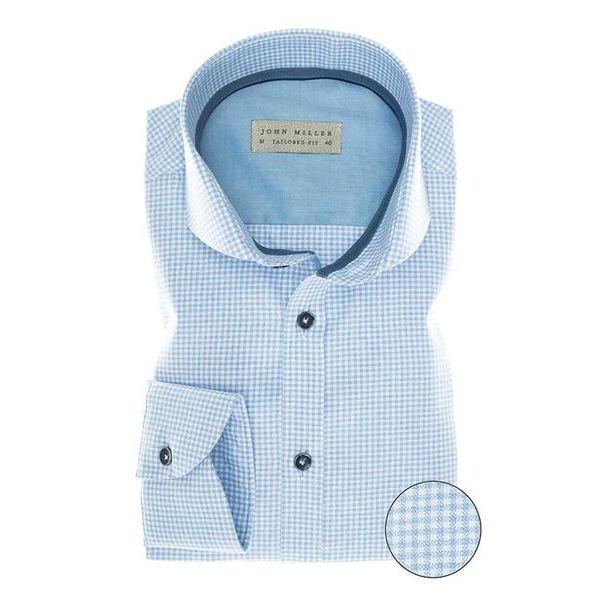 Blauw Ruit Shirt