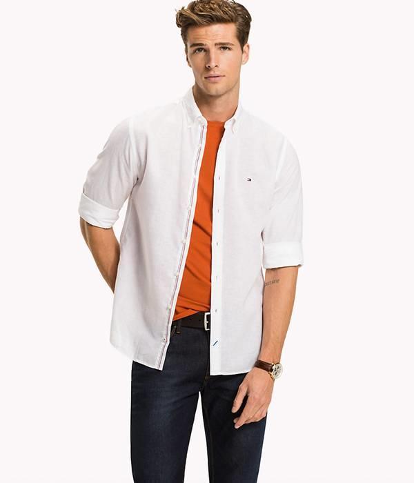 Tommy Hilfiger  6053 cotton linen
