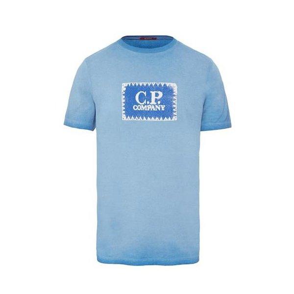 Re-Colour C.P. Label Jersey Ss T shirt