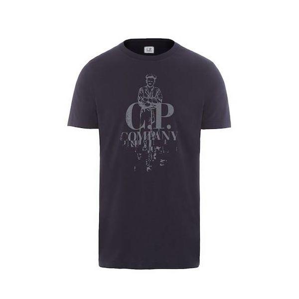 C.P. Sailor Print Jersey Ss T shirt
