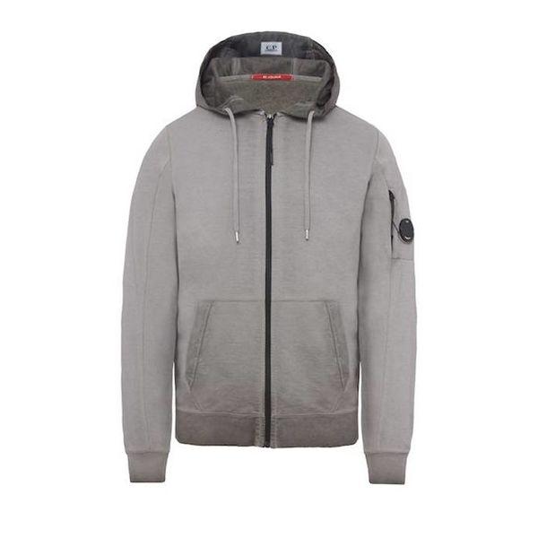 Re-Colour Light Fleece Lens Full Zip Hooded Sweatshirt