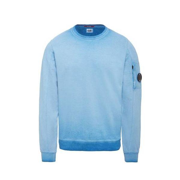 Re-Colour Light Fleece Lens Crew Neck Sweatshirt