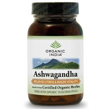 Organic India Ashwagandha 90 Kapseln