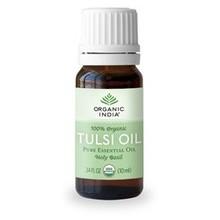Organic India Tulsi Oil, reines ätherisches Öl 10 ml