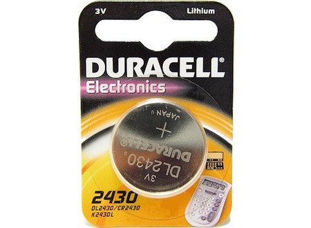 Duracell CR2430 - batterij