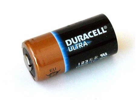 Duracell CR123A - batterij