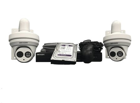 Hikvision Camerasysteem Hikvision double camera