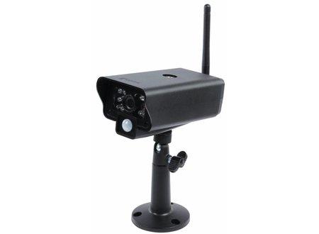 Konig Buitencamera - 2,4 GHz Draadloze Camera Buiten VGA Zwart