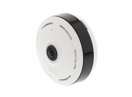 Konig HD IP-Camera 1280x960 Panorama Wit/Zwart