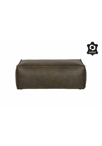 BePureHome Rodeo Poef 43x120x60 Army