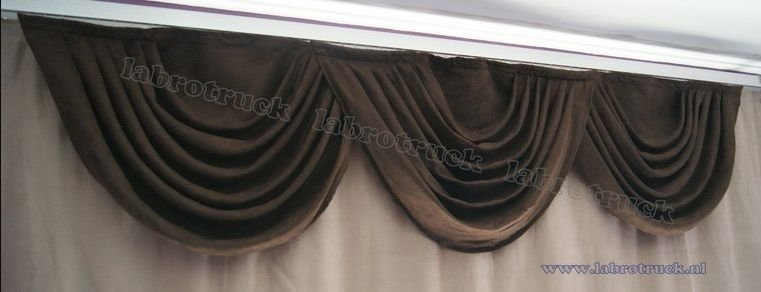 Cloud curtains Elegance Series (pleated bows)
