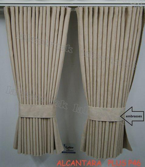Alacantara Side curtains Alacantara 90 cm