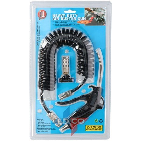 Air Spiral hose with gun