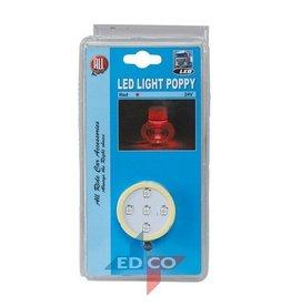 LED-Licht Poppy rot