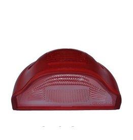 Lens license plate light