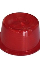 Lens for Swedish width lamp red