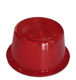 Lens voor zweedse breedtelamp rood