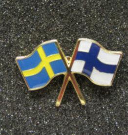 Pin vlag zweden finland