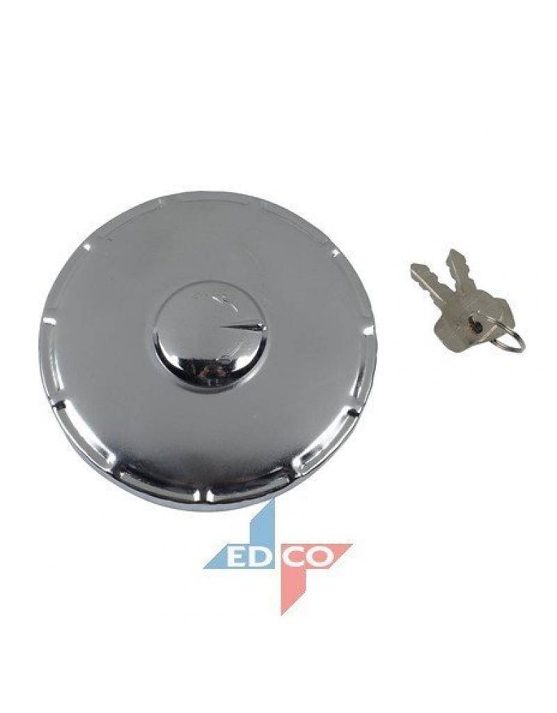Large gas cap with lock