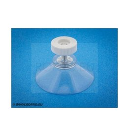 Suction cup with nut