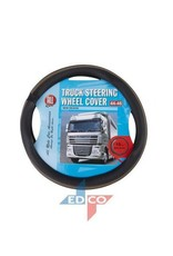 steering wheel cover black brown
