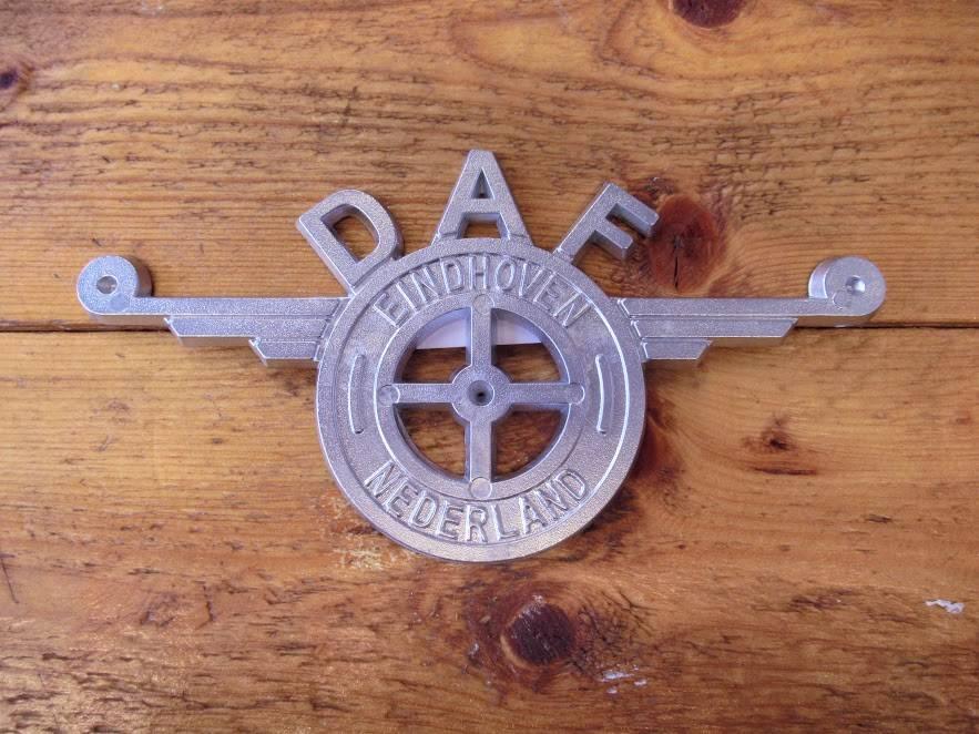 Alu logo DAF