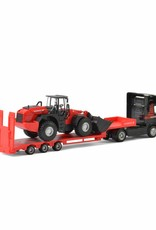Mammoet Truck with loader