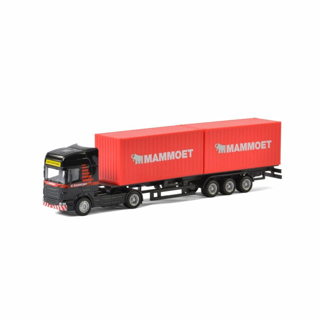 Mammoet Truck with container