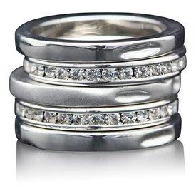 """Ring-set """"5 Sterne"""""""