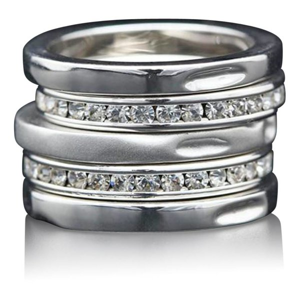 "Stackable Rings ""5 Stars"""