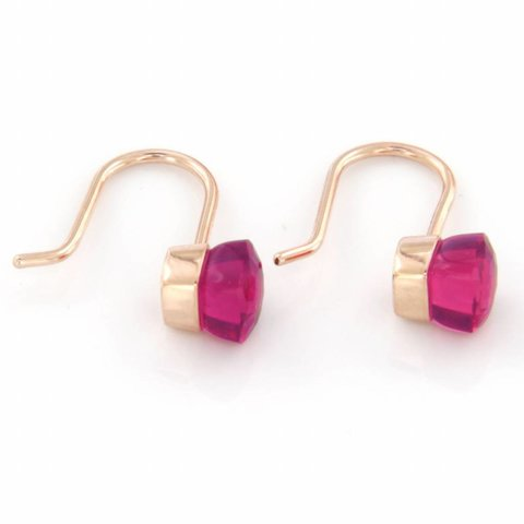 "Earrings ""Red Sea"""