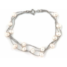 "Selection NoeBijou Bracelet ""Rain Pearls"""