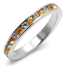 "Sterling Silver Ring ""Topaz"""