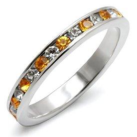 """Zilveren Ring """"Topaz"""""""