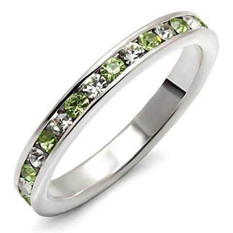 "Silver Ring ""Peridot"""