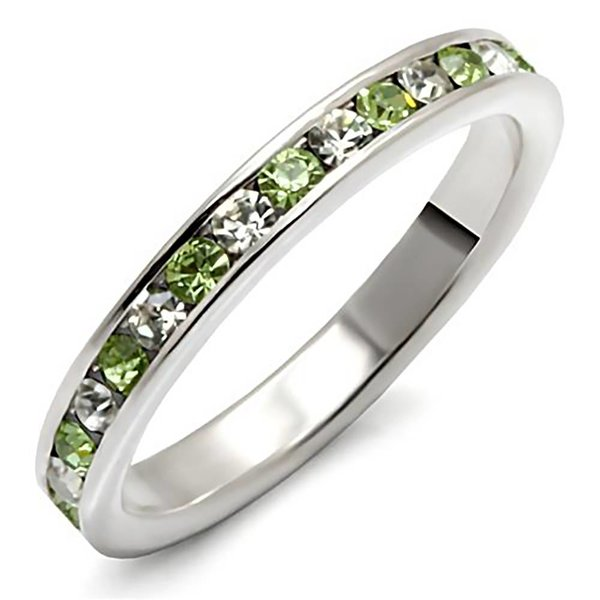 "Sterling silver ring ""Peridot"""