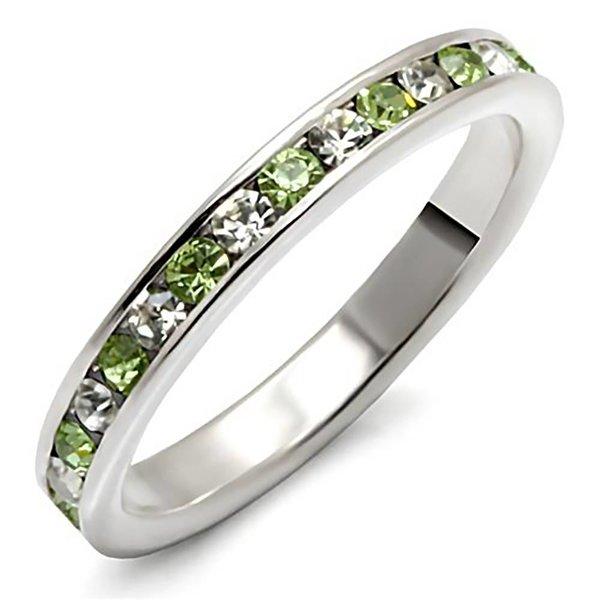 """Sterling zilveren ring """"Peridot"""""""