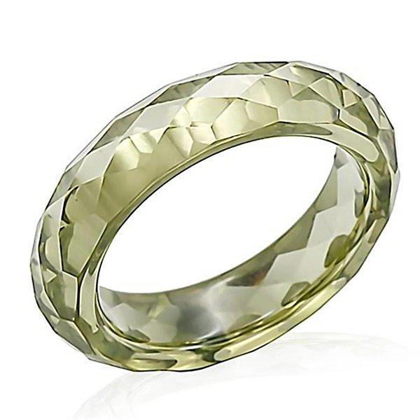 "Selection NoeBijou Cubic Zirconia Ring ""Cinderella"" in Olivine"