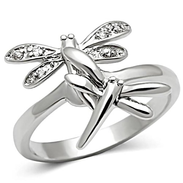 "Silver Ring ""Dragonfly"""
