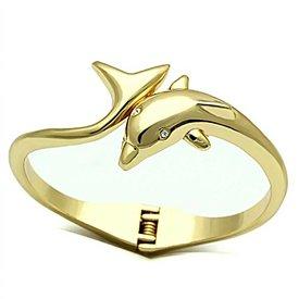 "Armband ""Golden Dolphin"""