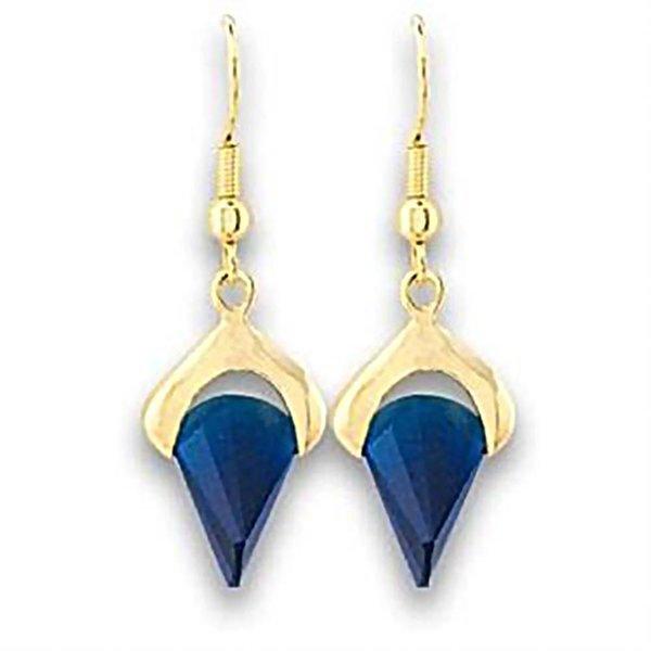 "Earrings ""Blue Montana"""