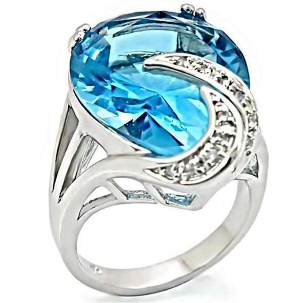 "Ring ""Sea Blue"""