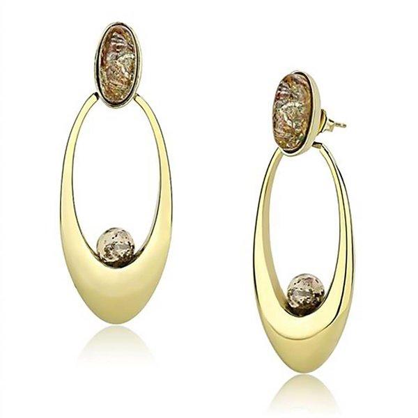 "Selection NoeBijou Drop Earrings ""Oval Beauty"""