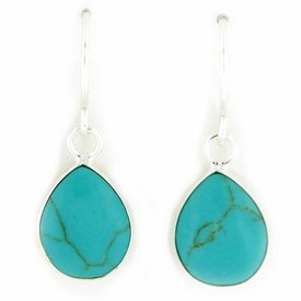 "Earrings ""Sea drop"""