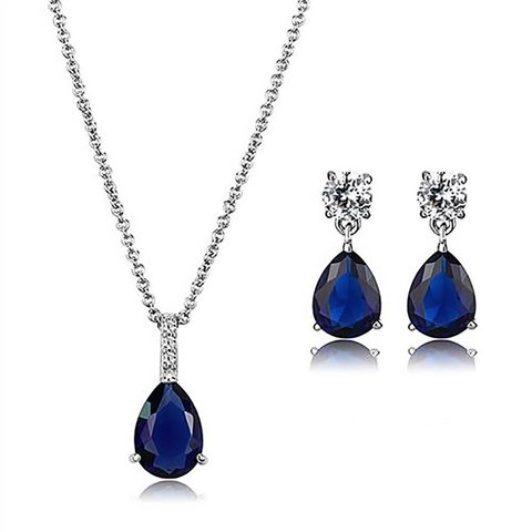 """Arctic Nouveau"" Stylish Jewellery Set"